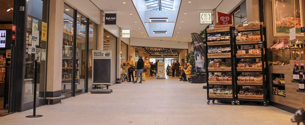 winkelcentrum groenelaan